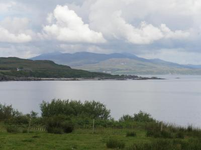 Claggain bay, over to Jura